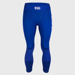 Men's Base Layer Capri Basketball Leggings - Blue/NBA Los Angeles Clippers
