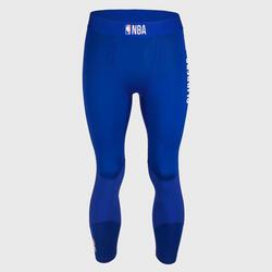 男款七分籃球緊身褲 - 藍色/NBA洛杉磯快艇隊