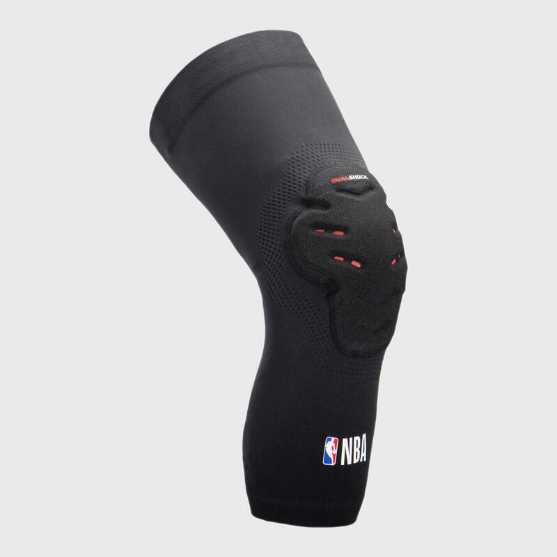 Set 2 Genunchiere de Protecție Baschet KP500 NBA DUALSHOCK Adulți