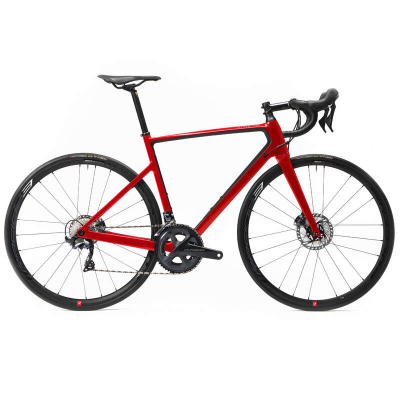 ERKEK YOL YARIŞ BİSİKLETİ Yol Bisikleti - EDR CF DISC ULTEGRA BİSİKLET VAN RYSEL - All Sports