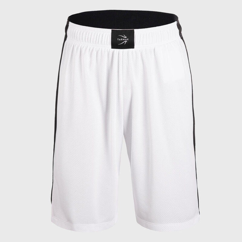 SHORT DE BASKETBALL HOMME SH500 BLANC