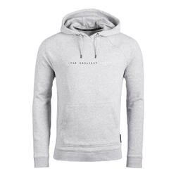 SWEAT-SHIRT A CAPUCHE DE BASKETBALL POUR HOMME H100 GRIS CLAIR GREATEST GAME