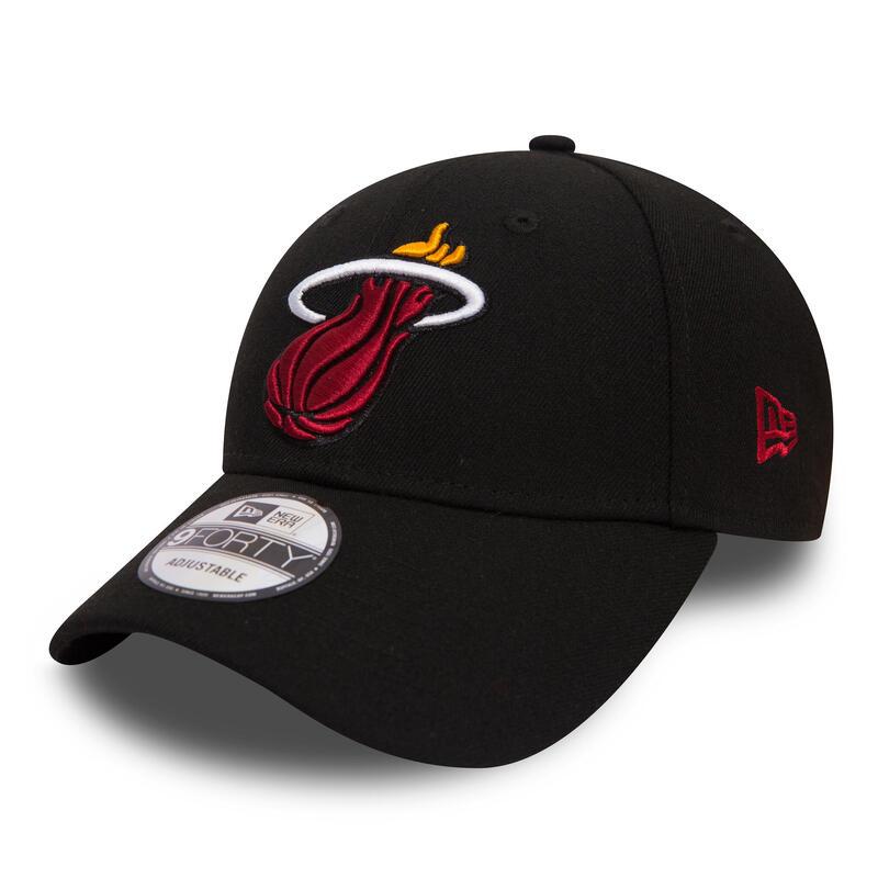 Gorra Baloncesto New Era NBA Miami Heat Adulto Negro