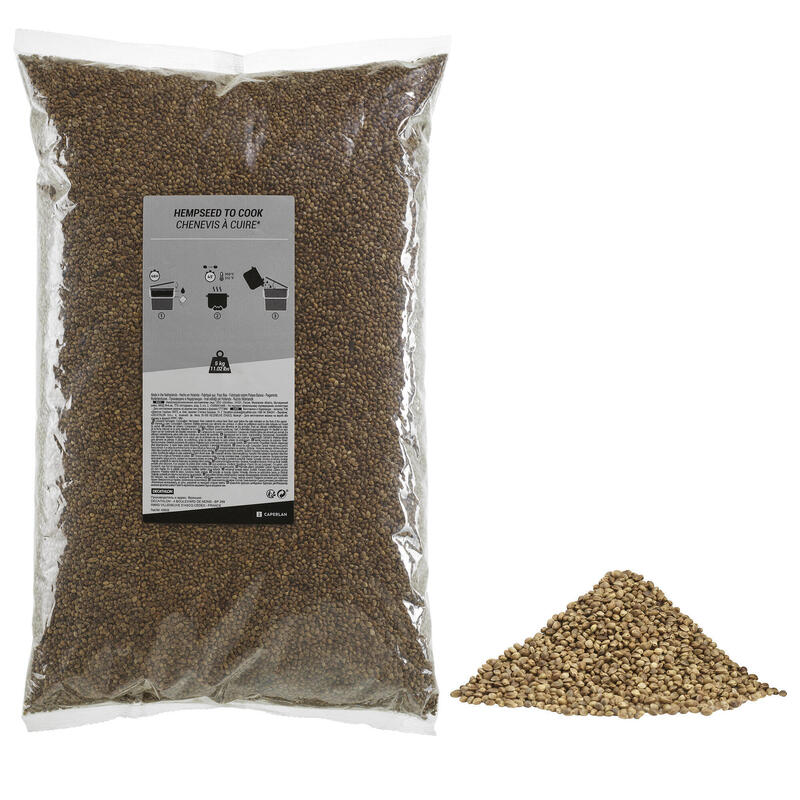 Canapa secca granaglie carpfishing 5 kg