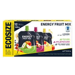 Especialidade de frutos energética 12x90g Maçã, Maçã-Banana, Maçã-Frutos Verm