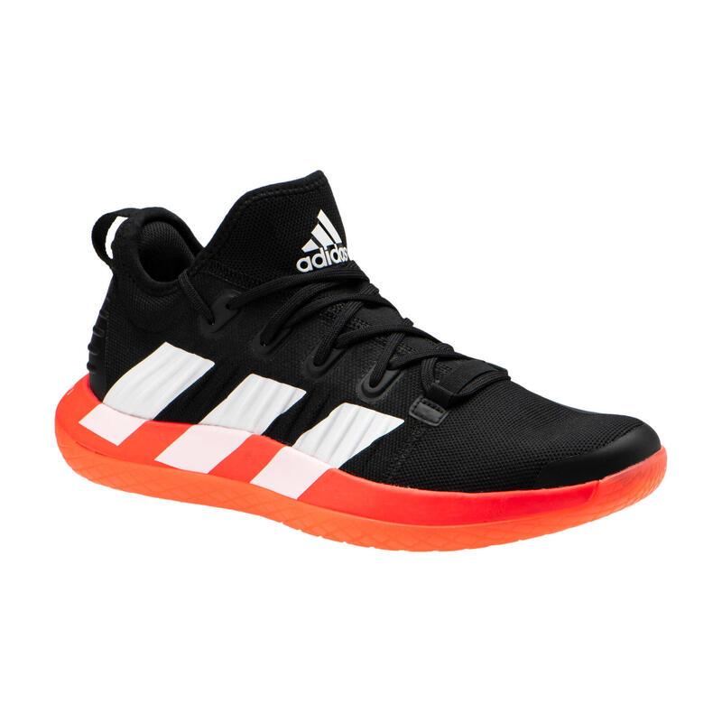 Handbalschoenen voor heren NEXT GEN zwart/oranje ecodesign