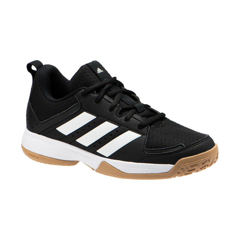 Chaussures de handball enfant ADIDAS LIGRA noir / blanc