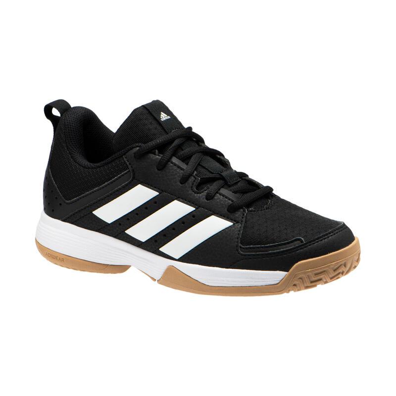 Handbalschoenen voor kinderen LIGRA zwart/wit