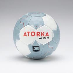 Ballon de handball homme H500 wax free rouge / gris T3