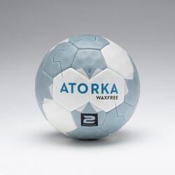 Ballon de handball H500 wax free bleu / gris T2