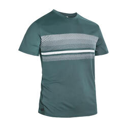 男款網球T恤TTS100 - 藍綠配色