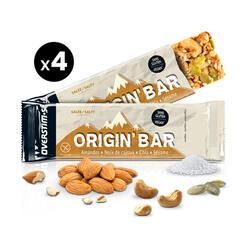 Overstims Barre Origin' Bar salée - 4x40g