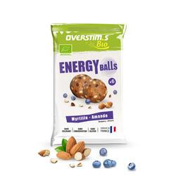 Overstims Energy balls bio myrtille - sachet de 6x8g