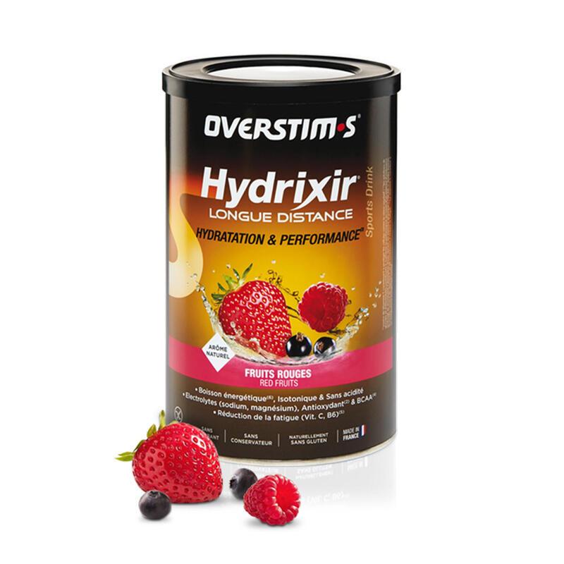 Overstims Hydrixir longue distance fruits rouges - boîte 600 g