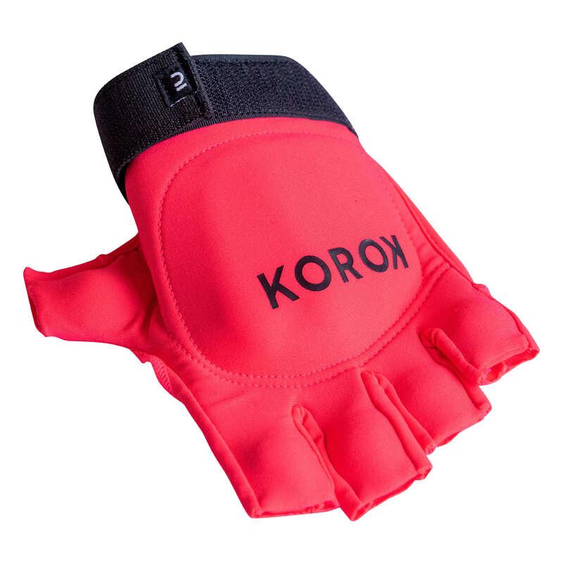 Gyephoki védőfelszerelés USA csapatsportok, rögbi, floorball - Gyeplabda kesztyű FH100  KOROK - Gyeplabda