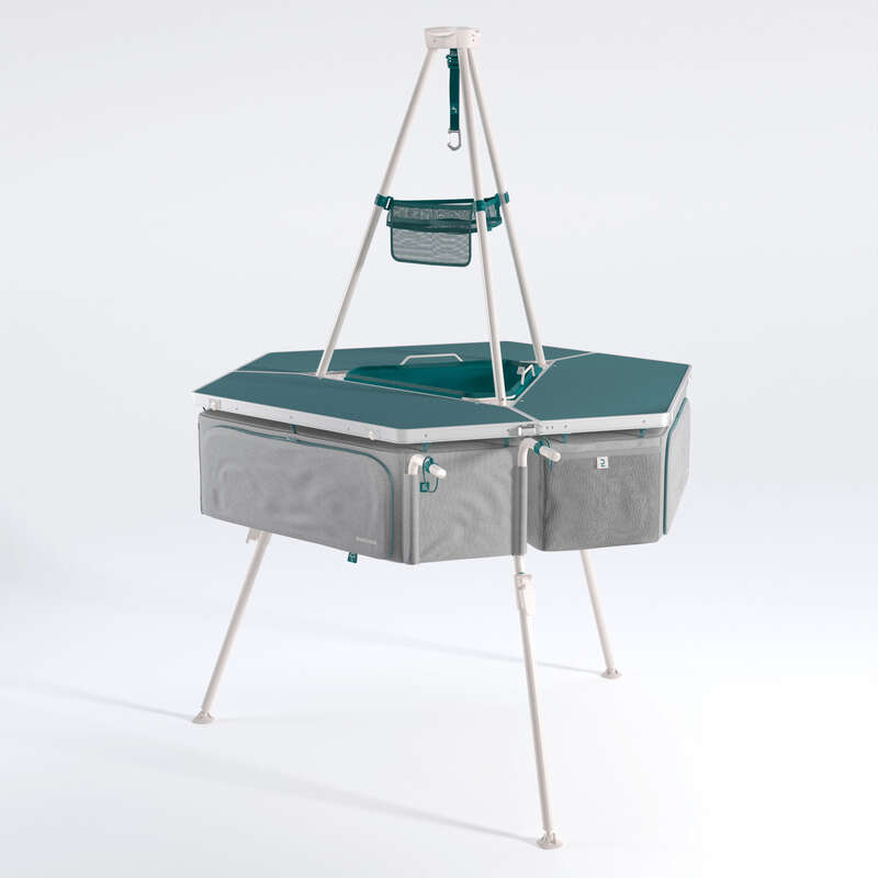 kemping bútorok Kemping - Konyhabútor kempingezéshez QUECHUA - Kempingbútor, felszerelés