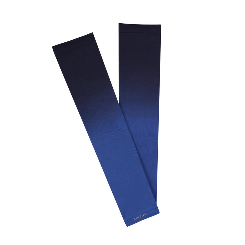 Running Arm Covers Cold Protection - Black/Blue