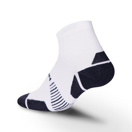 ECO-DESIGN RUN900 MID FINE RUNNING SOCKS - WHITE