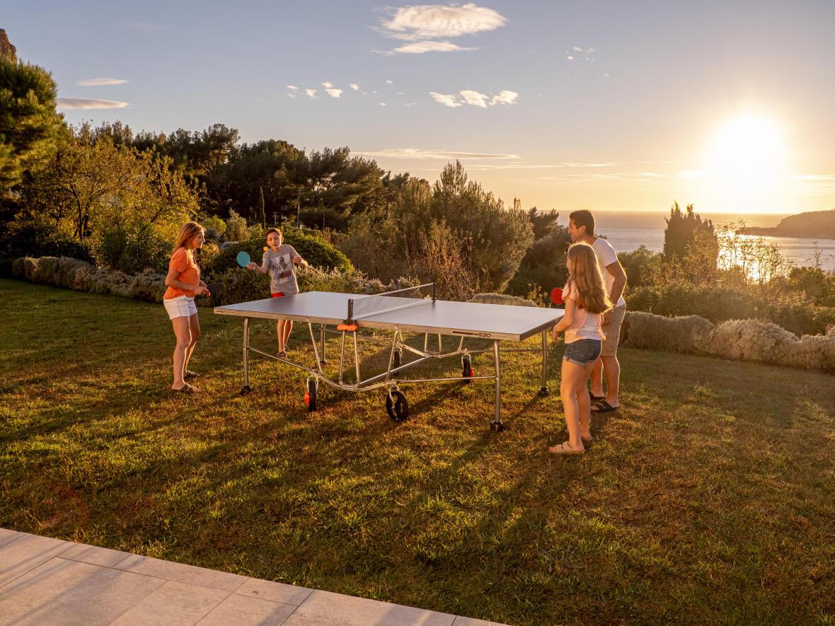 Nos 5 bonnes raisons de jouer au ping pong dehors