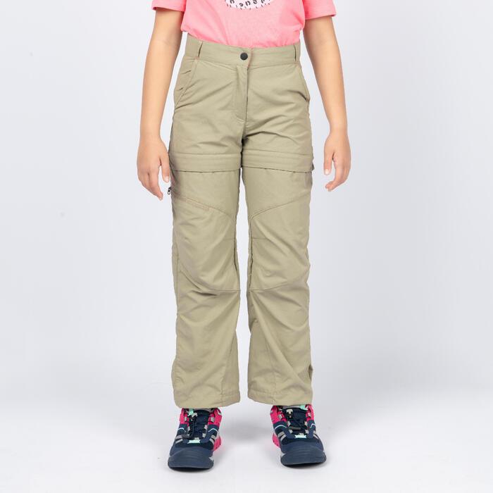 女童款模組褲MH500-砂色