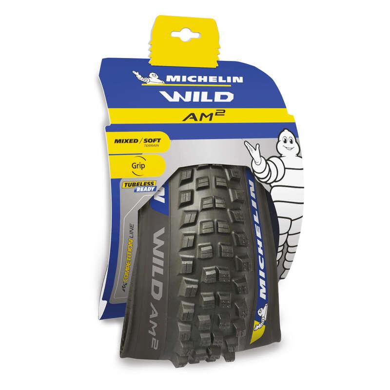 MTB Reifen schlammiger Untergrund Radsport - Faltreifen MTB Wild AM2 29×2.4 MICHELIN - Fahrradteile