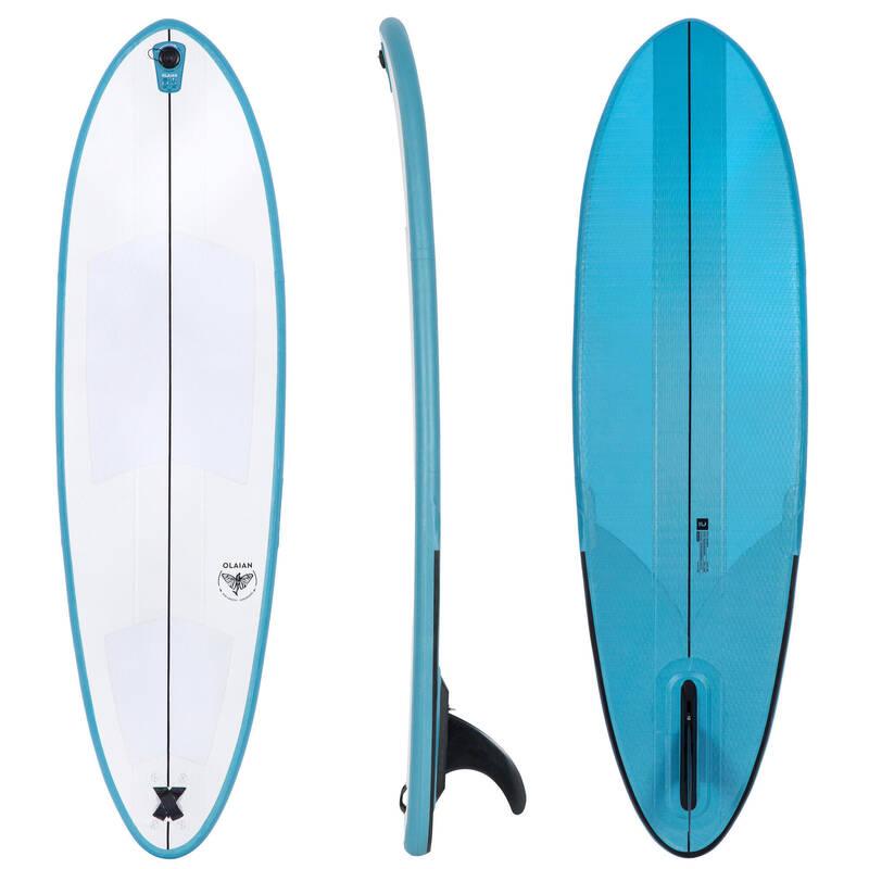 SURFOVACÍ PRKNO POKROČILÍ Surfing a bodyboard - SURFBOARD 500 COMPACT 6'6