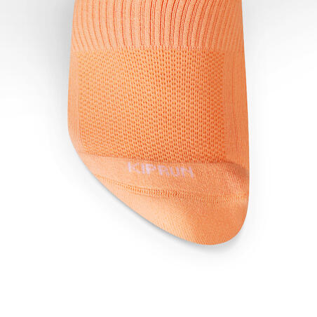 Running Invisible Socks Run 500 x2 - orange