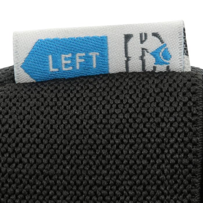 Set 3 beschermers Fit 5 volwassenen voor skeeleren, skateboard, step grijs wit