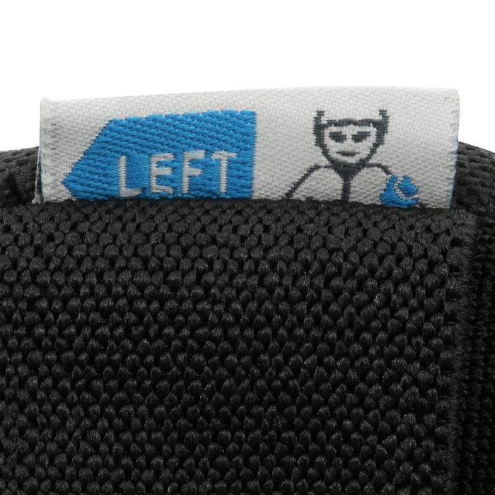 Protektoren Schoner Schützer Inliner Skate 3er-Set Fit 5 Erwachsene schwarz/blau