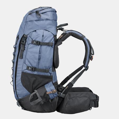  TREK 900 Symbium 50 + 10 L Mountain Trekking Backpack Blue - Women's