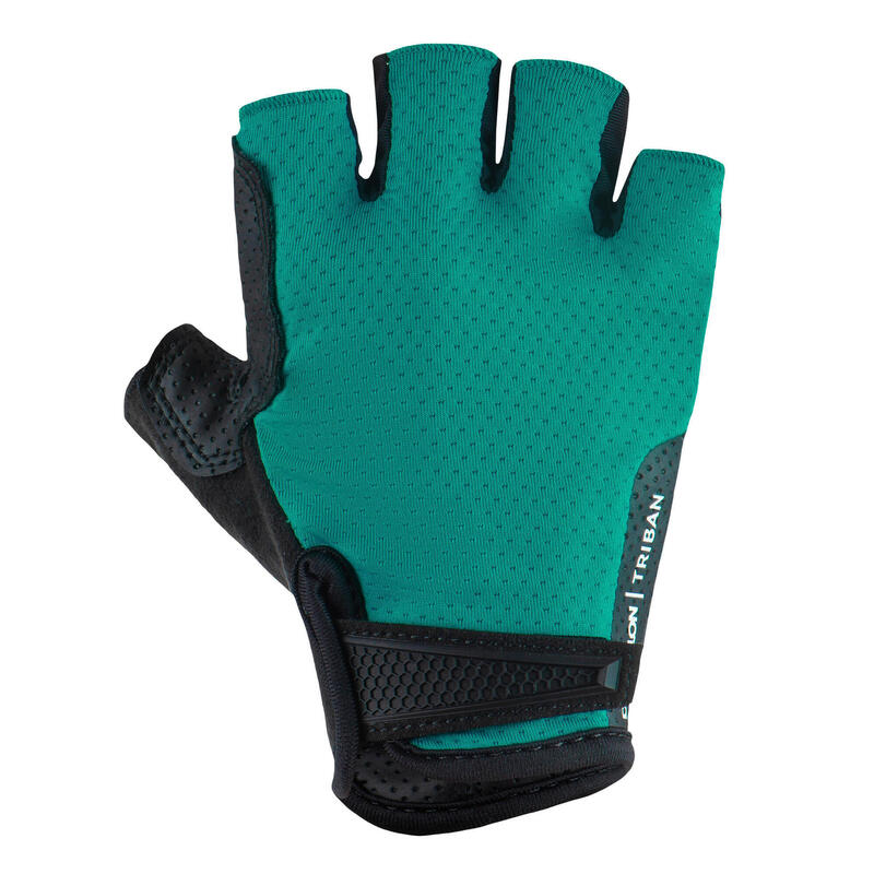 Guantes ciclismo carretera RoadCycling 900 verde