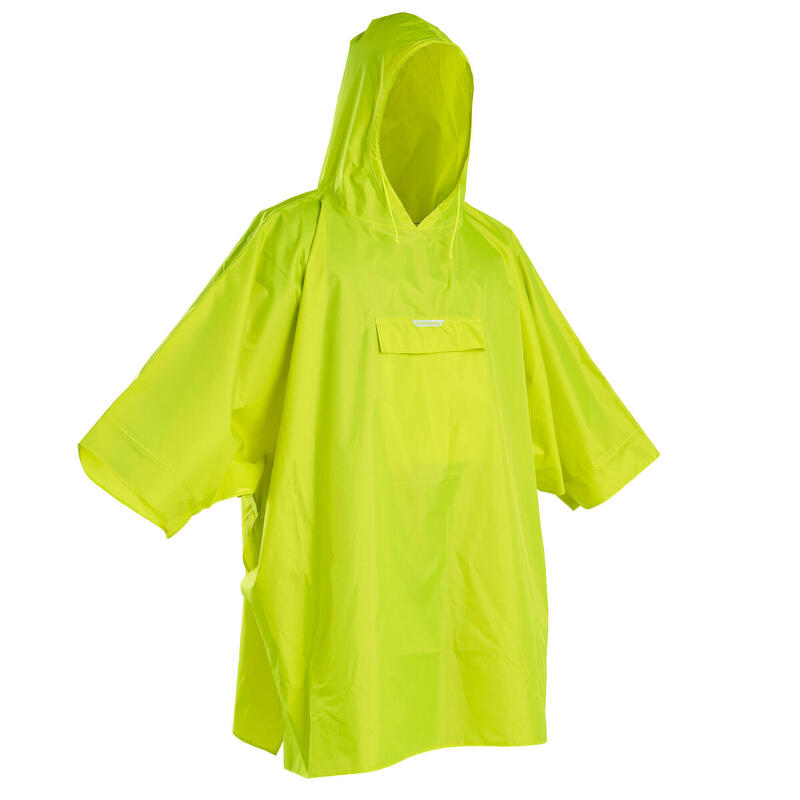Poncho Lluvia Solognac Glenarm Adulto Verde