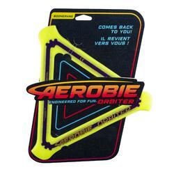 Boomerang Triangle Aerobie orbiter