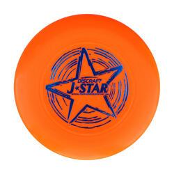 Frisbee voor kinderen in soepel plastic D145 ultimate geel