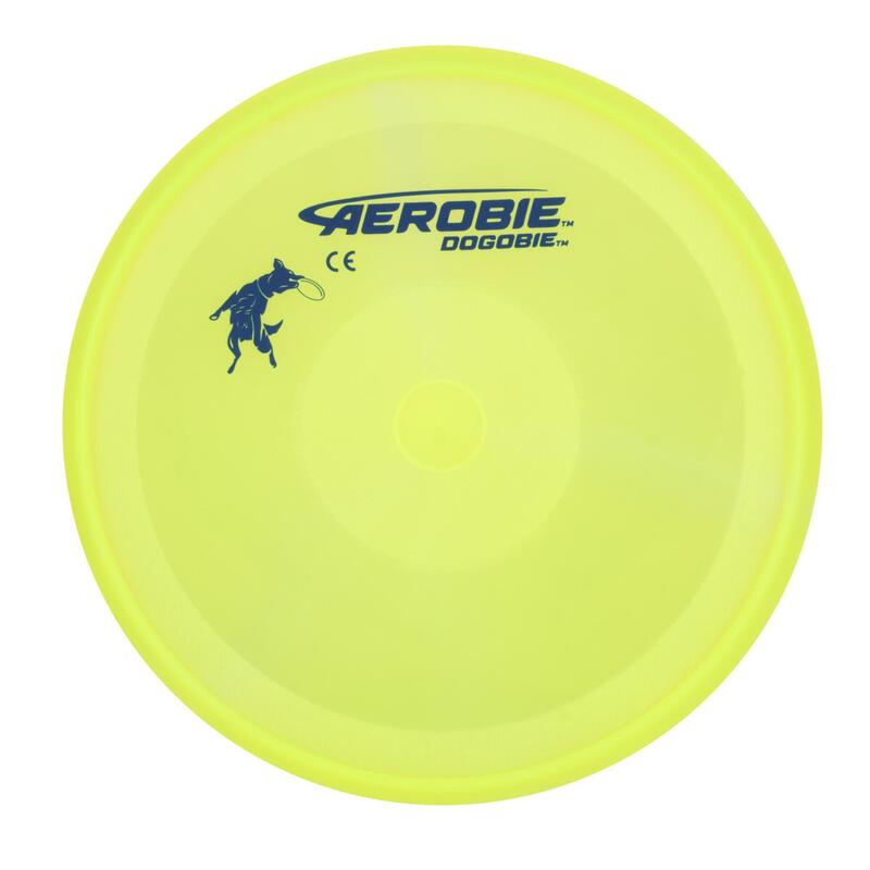 Disco Volador Perros Amarillo Flexible