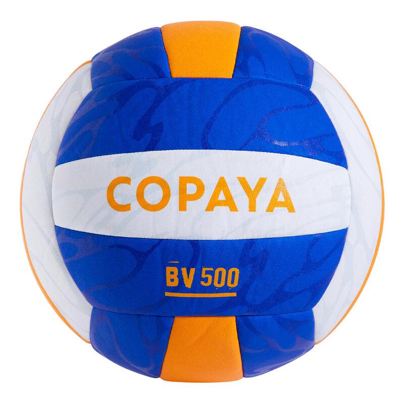 Ballon de beach volley BVBH500 violet