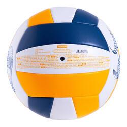 Beachvolleyball BVBS100 blau/gelb