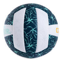 Ballon de beach volley BVBH500 vert foncé