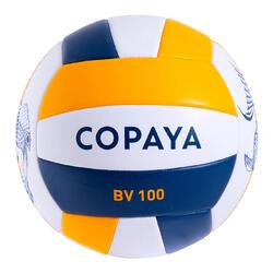 Bola de Voleibol de Praia BVBS100 Azul e Amarelo