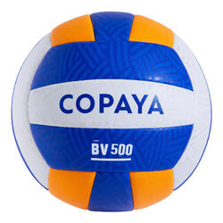 Ballon de beach volley BVBH500 jaune