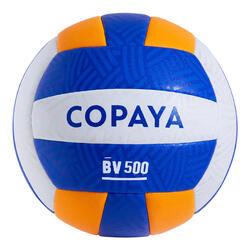 Beachvolleyball BVBH500 gelb