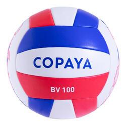 Ballon de beach volley BVBS100 violet et corail