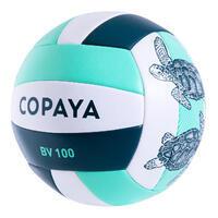 Ballon de beach volley BVBS100 vert foncé