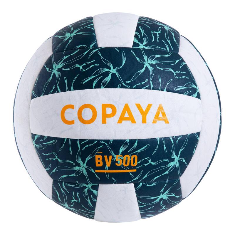 PLÁŽOVÝ VOLEJBAL Beach volejbal - MÍČ BVBH 500 ZELENÝ COPAYA - Míče a doplňky k míčům