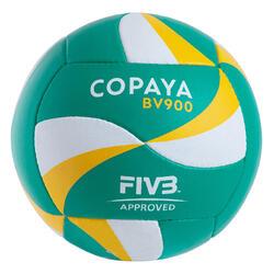 Bola de Voleibol de Praia BV900 Verde e Amarelo