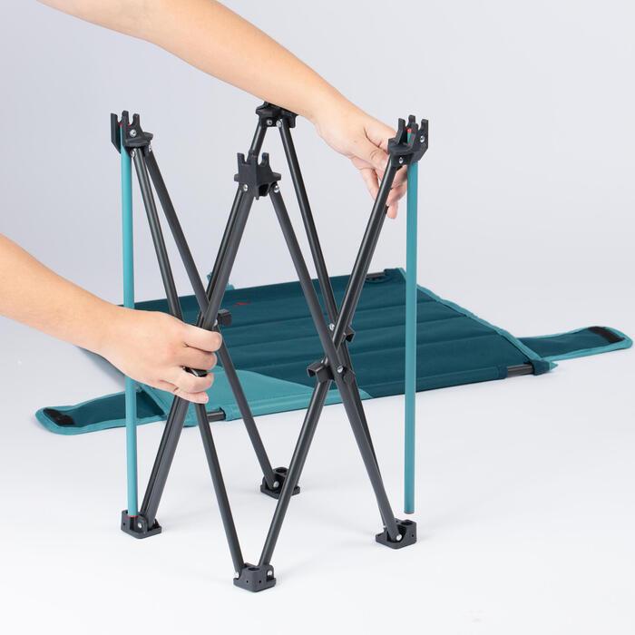 矮腳摺疊露營桌MH100 - 灰色