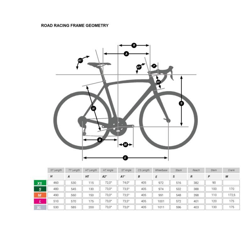 จักรยานเสือหมอบรุ่น RCR 900 CF Carbon
