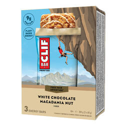 Barra Energética CLIF BAR Chocolate Branco & Macadâmia 3 x (68 g)