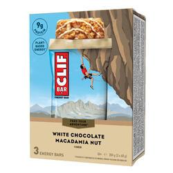 Energiereep Clif Bar witte chocolade macadamianoten 3x68 g
