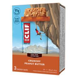 Barre Énergétique CLIF BAR Beurre de cacahuète 3x(68 g)